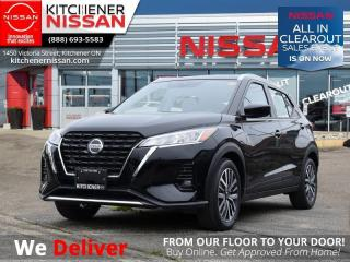 New 2021 Nissan Kicks SV  - Android Auto -  Apple CarPlay - $158 B/W for sale in Kitchener, ON