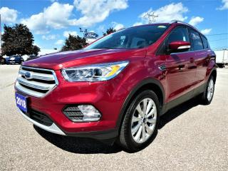 Used 2018 Ford Escape Titanium | Adaptive Cruise | Blind Spot Monitor | Navigation for sale in Essex, ON