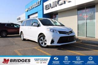 Used 2020 Toyota Sienna LE**Dual Power-Sliding Doors | Heated Seats | Accident Free** for sale in North Battleford, SK