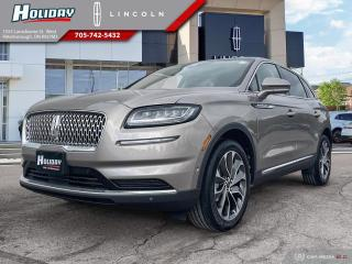 New 2021 Lincoln Nautilus RESERVE for sale in Peterborough, ON