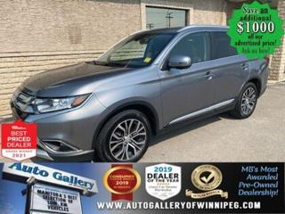 Used 2017 Mitsubishi Outlander ES* AWC/Bluetooth/Push Button Start/REMOTE STARTER for sale in Winnipeg, MB