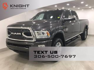 Used 2018 RAM 2500 Limited Crew Cab | Leather | Sunroof | Navigation | for sale in Regina, SK