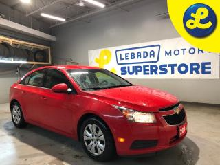 Used 2014 Chevrolet Cruze LT Turbo * Red Cloth Seats W/ Black Inserts * Remote Start * Cruise Control * Steering Wheel Controls * Hands Free Calling * ON Star * AM/FM/SXM/USB/A for sale in Cambridge, ON
