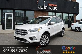 Used 2017 Ford Escape Titanium I NAVI I LEATHER I PANO ROOF for sale in Concord, ON