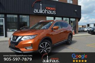 Used 2017 Nissan Rogue SL I NAVI I LEATHER I PANO I BSM for sale in Concord, ON