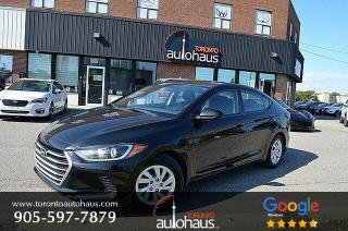 Used 2017 Hyundai Elantra SE I OFF-LEASE I ONE OWNER for sale in Concord, ON