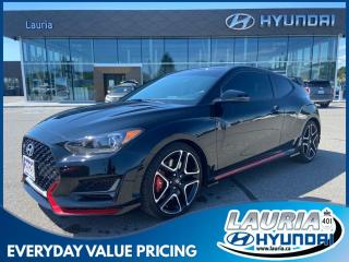 Used 2020 Hyundai Veloster N Manual - LIKE NEW for sale in Port Hope, ON