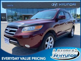 Used 2009 Hyundai Santa Fe 3.3L V6 Limited AWD for sale in Port Hope, ON