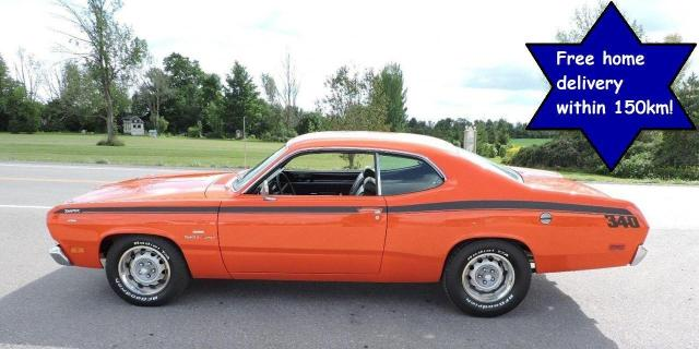 1970 Plymouth DUSTER 340 Auto A/C  Numbers matching California car