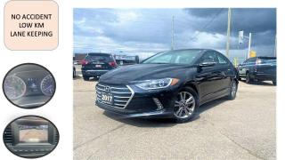 Used 2017 Hyundai Elantra AUTO SAFETY LOW KM NO ACCIDENT BLUE TOOTH  B-CAM A for sale in Oakville, ON