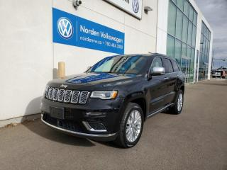Used 2018 Jeep Grand Cherokee SUMMIT 4X4 | LOADED for sale in Edmonton, AB