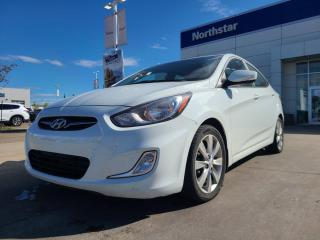 Used 2014 Hyundai Accent GLS AUTO/SUNROOF/HEATEDSEATS/BLUETOOTH for sale in Edmonton, AB