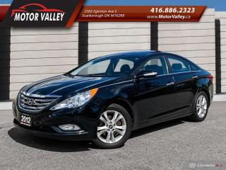 Used 2012 Hyundai Sonata Limited Only 074,862KM Leather/Nav/Cam/Pano Roof! for sale in Scarborough, ON