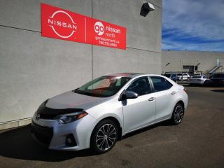 Used 2014 Toyota Corolla S / 6 Speed Manual / Leather Heated Seats / Sunroof for sale in Edmonton, AB