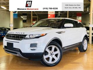 Used 2012 Land Rover Range Rover Evoque 2Door - 360 CAM| NAVI |PANO |BLIND SPOT for sale in North York, ON