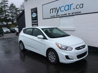 Used 2017 Hyundai Accent LE A/C. BLUETOOTH. POWER GROUP. for sale in Richmond, ON