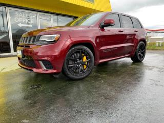 Used 2018 Jeep Grand Cherokee Trackhawk TRACKHAWK!! 707HP! MONSTER Muscle SUV!! Clean CarFax!! for sale in Kingston, ON