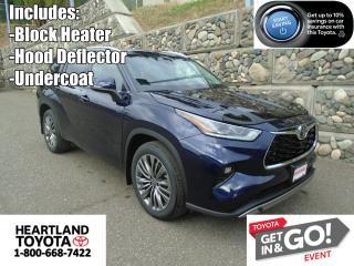 New 2021 Toyota Highlander Platinum for sale in Williams Lake, BC