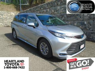 New 2021 Toyota Sienna XLE AWD 7 Passenger for sale in Williams Lake, BC