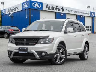 Used 2017 Dodge Journey Crossroad NAV|BACKUP CAM|LEATHER|REAR TV for sale in Georgetown, ON