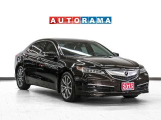 Used 2015 Acura TLX V6 AWD Tech Nav Leather Sroof Backup Cam for sale in Toronto, ON