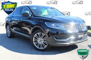 Used 2016 Lincoln MKX Reserve RESERVE 3.7 EDITION !! CERTIFIED!1 for sale in Hamilton, ON