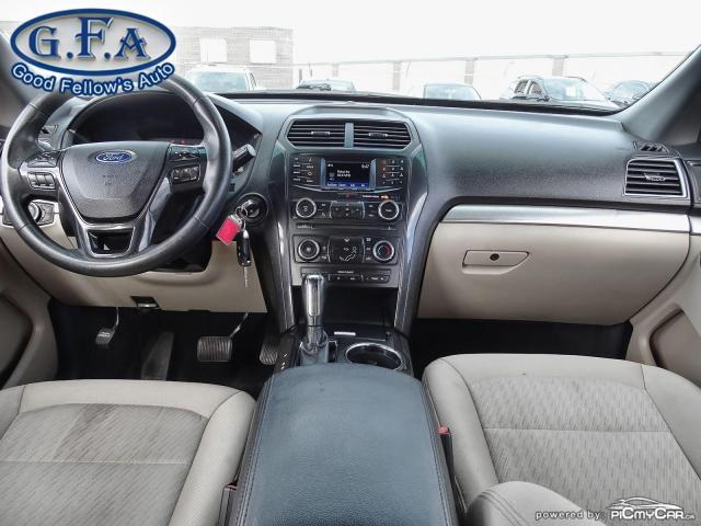 2016 Ford Explorer 7 PASSENGER, BACKUP CAMERA, SATELLITE RADIO SIRIUS Photo12