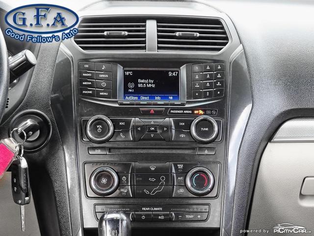 2016 Ford Explorer 7 PASSENGER, BACKUP CAMERA, SATELLITE RADIO SIRIUS Photo14