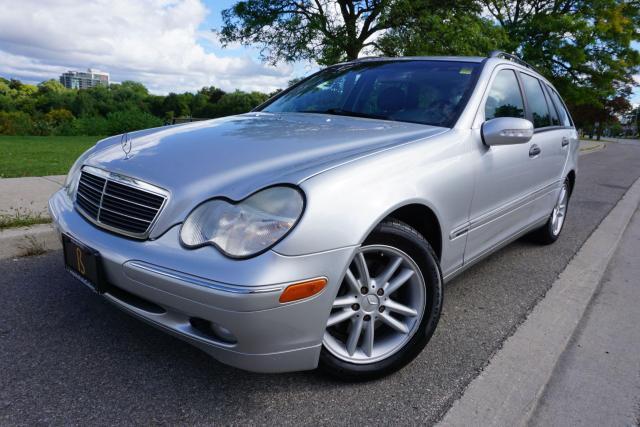 2003 Mercedes-Benz C240 RARE /WAGON /4MATIC /LOW KM'S /NO ACCIDENTS/LOCAL