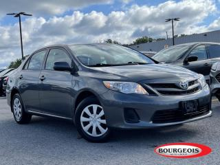 Used 2012 Toyota Corolla S MANUAL, LOW KM ! ONE OWNER for sale in Midland, ON