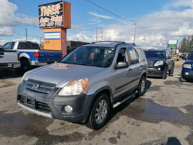 2006 Honda CR-V SE*ONLY 196KMS*ALLOYS*4X4*4 CYLINDER*AS IS