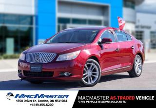 Used 2010 Buick LaCrosse CXL for sale in London, ON