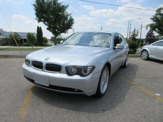 Used 2002 BMW 7 Series 745iL for sale in Markham, ON