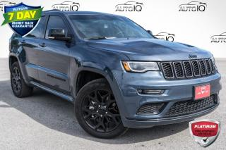 Used 2021 Jeep Grand Cherokee Limited 9 ALPINE SPEAKERS WITH SUBWOOFERS!!! NAV!!! LIMITED X PACKAGE!!! for sale in Barrie, ON