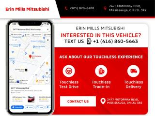 New 2022 Mitsubishi Outlander SE S-AWC for sale in Mississauga, ON