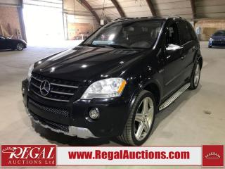 Used 2009 Mercedes-Benz ML-Class ML63AMG for sale in Calgary, AB