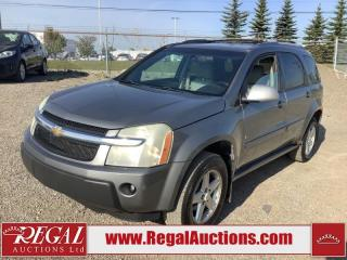 Used 2006 Chevrolet Equinox LT 4D Utility AWD for sale in Calgary, AB