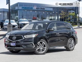 Used 2017 Acura MDX Tech Pkg TECHNOLOGY PACKAGE| NO ACCIDENTS| FINANCE for sale in Mississauga, ON