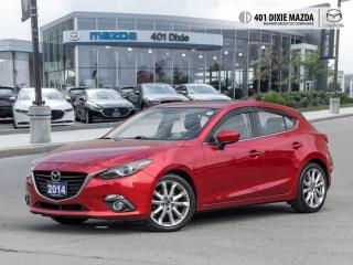 Used 2014 Mazda MAZDA3 GT-SKY PREMIUM PACKAGE| ONE OWNER| NO ACCIDENTS for sale in Mississauga, ON