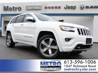 Used 2015 Jeep Grand Cherokee Overland Ecodiesel Fully Loaded for sale in Ottawa, ON