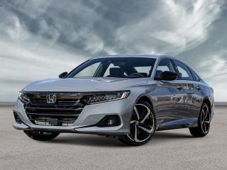 New 2021 Honda Accord Sedan Sport CVT for sale in Amherst, NS