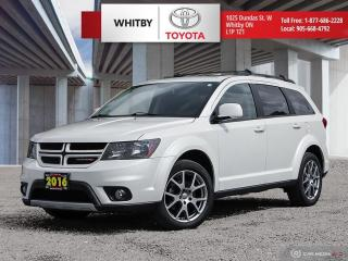 Used 2016 Dodge Journey R/T Rallye for sale in Whitby, ON