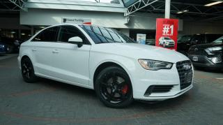 Used 2016 Audi A3 1.8T / LOW MILEAGE / CLEAN VEHICLE ! for sale in Vancouver, BC