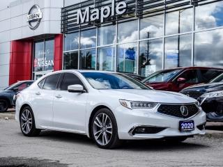 Used 2020 Acura TLX Elite SH-AWD Navi Apple Carplay Moonroof Rear Cam for sale in Maple, ON