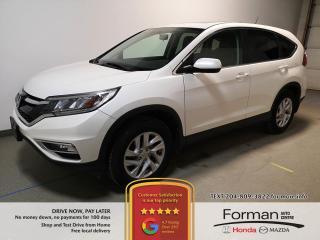 Used 2015 Honda CR-V EX-L|N.Tires|Htd Lthr|Camera|AWD|39MPG|Local|Clean for sale in Brandon, MB