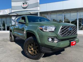 Used 2021 Toyota Tacoma Nightshade TRD 4WD 6SPD LEATHER NAVI SUNROOF SUBWO for sale in Langley, BC