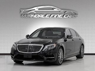 Used 2017 Mercedes-Benz S-Class S550 4MATIC LWB, AMG Pkg, Loaded, No Accidents for sale in Concord, ON