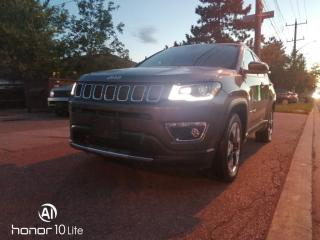 Used 2018 Jeep Compass Limited 4X4 for sale in Toronto, ON