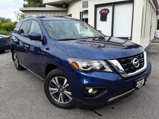 Used 2018 Nissan Pathfinder SL PREMIUM 4WD - LEATHER! NAV! 360 CAM! BSM! PANO ROOF! for sale in Kitchener, ON