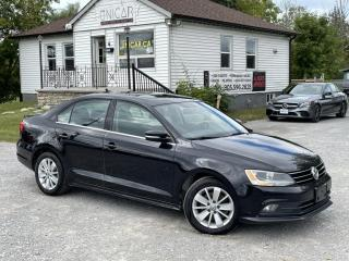 Used 2015 Volkswagen Jetta Sedan No-Accidents TDI Diesel Sunroof Backup Cam Bluetooth MINT for sale in Sutton, ON